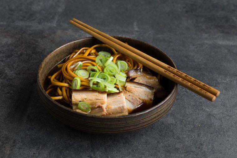 Instant Pot Ramen-Style Pork Belly