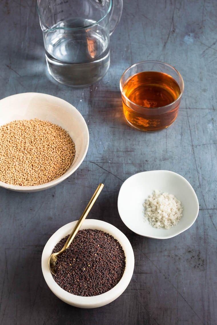 Whole-Grain Fermented Mustard