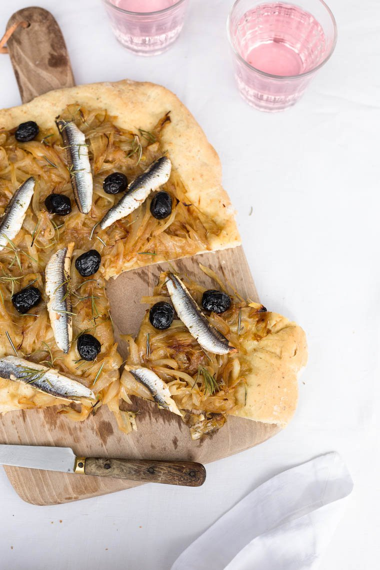 Pissaladière (French Onion Tart)
