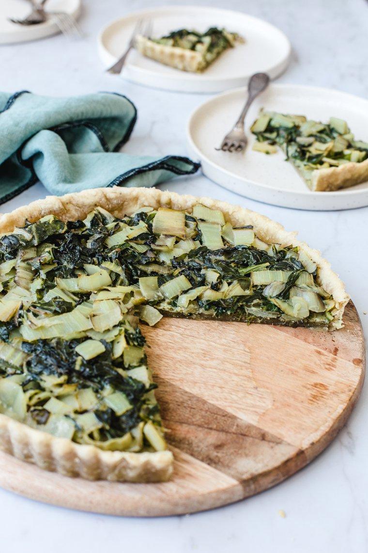 Easy Vegan Olive Oil Crust